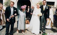 Le Comte Vincenz le jour de son mariage avec Katharina Graf