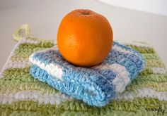 Ripple Puff Crochet Cleaning Cloth