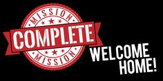 Welcome Home & Mission Complete Sign | www.signs.com #mormon #missionary #banner