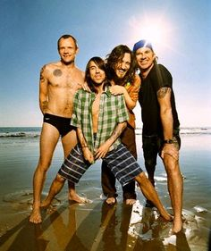 red hot chili peppers and my vision of summer all in one!