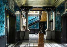 The entrance hall, Leighton House, London