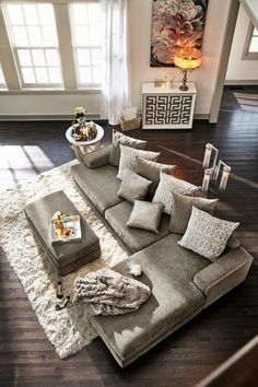 5 Favorite Living Rooms That Youll Love Too Grey sectional