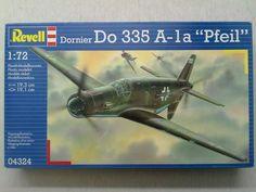 Revell Dornier Do 335 A-la Pfeil Airplane Model Kit #Revell