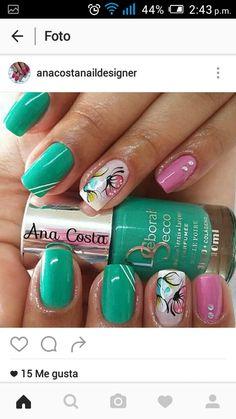 Nail Arts, Nails, Beauty, Nail Designs, Videos, Chic Nails, Pretty Nails, Fall Nail Colors, Chrome Nails
