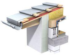 Painel e chapa metálica para cobertura de zinco-titânio QUICK STEP by RHEINZINK Italia