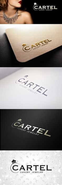 Cartel #Luxury #Jewelry #logo #design #branding #dublin