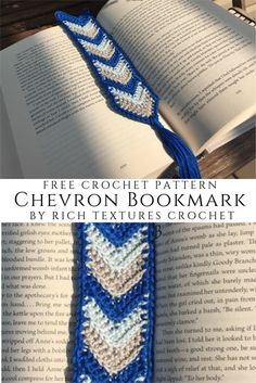 A free crochet pattern of a chevron bookmark. Do you also want to crochet this b… A free crochet pattern of a chevron bookmark. Do you also want to crochet this bookmark? Read more about the Free Crochet Pattern Chevron Bookmark. Plastic Bag Crochet, Crochet Mat, Chevron Crochet, Wire Crochet, Thread Crochet, Crochet Crafts, Crochet Stitches, Crochet Projects, Fast Crochet