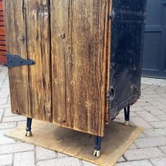 Steamer Wardrobe Trunk Bar Armoire with Barnwood Doors- UNIQUE City of Toronto Toronto (GTA) image 6