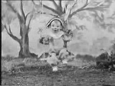 watch with mother - Andy Pandy 1952 BBC. Hilarious narrator's voice - everyone sounded like the Queen on TV back then!