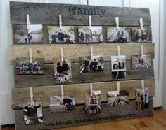 Fotos auf Europaletten