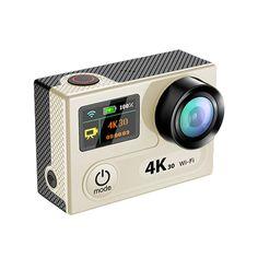 #Zapals - #Zapals Tekcam H8R 4K WiFi 30m Waterproof Action Camera Dual Screen - AdoreWe.com