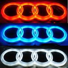 nice Awesome 4D LED Car Tail Logo For Audi Q3 A4 A6 A3 TT Auto Badge Light Rear Emblems Red 2018