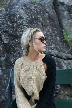 that sweater & braid