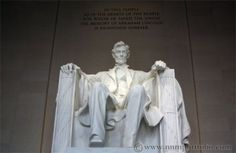 Washington DC Monuments - The Lincoln Memorial Statue   Schweet Life