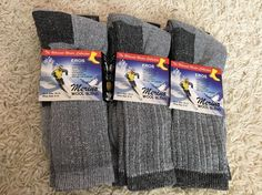6xMen 68% Merino Wool Winter Hiking Camp Warm Cushion Outdoor Thermal Socks NWT | eBay http://www.ebay.com/itm/6xMen-Merino-Wool-Winter-Hiking-Camp-Warm-Cushion-Outdoor-Thermal-Socks-NWT-/112207526299?hash=item1a2016f99b