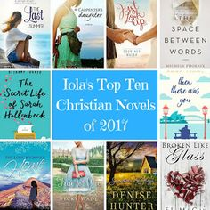 So I tried to write a list of the ten best books I've read this year. But I had to narrow it down to my favourite contemporary Christian romance novels for the year. How many have you read? What was your favourite book of 2017?