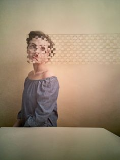 Puzzling Identity: Alma Haser's Intriguing Paper Collage Portraits Art Photography Portrait, Mixed Media Photography, Texture Photography, Abstract Photography, Artistic Photography, Creative Photography, Photography Tips, Contemporary Photography, Montage Photography