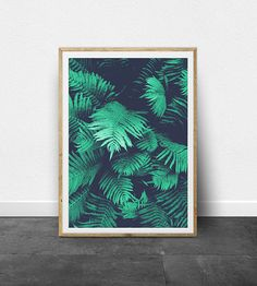 Tropical Print Decor Printable Art