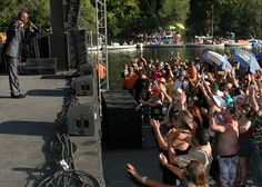 Music on the river -- Russian River Jazz & Blues Festival in Guerneville