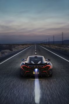 McLaren P1 Just want to be in this car and on that road with a long long way to go.