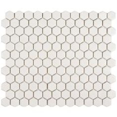 @Overstock - These Somertile Victorian Hex tiles are perfect for your bath, backsplash, kitchen and floor. Clean white matte finish porcelain tiles will never go out of style.http://www.overstock.com/Home-Garden/Somertile-Victorian-Hex-Matte-White-Porcelain-Mosaic-Tiles-Pack-of-10/5784557/product.html?CID=214117 $49.03