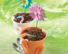 Ice Cream Flower Pots Recipe - Fun..fun..and more fun! #Schwans #EasyRecipes #Inspiration