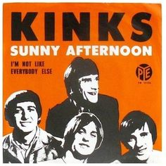 1. Waterloo Sunset (1967) | Ray Davies & The Kinks: their 10 greatest songs - Music Rock Posters, Concert Posters, Music Posters, The Kinks Sunny Afternoon, Ray Davies, 60s Music, Music Radio, Pochette Album, Music Album Covers