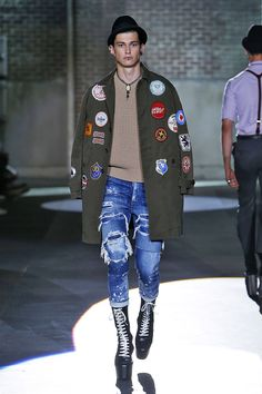 My favorite look from @Dsquared2 SS 17 MEN SHOW COLLECTION