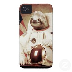 Astronaut Sloth Case-Mate iPhone 4 Case
