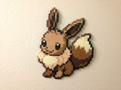 Eevee - Fuse Beads by ~chocovanillite on deviantART