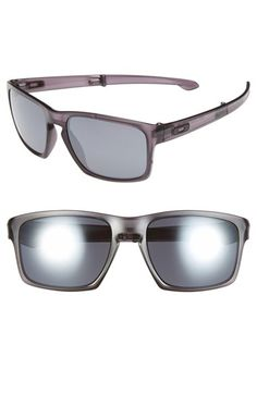 8182fd4c04a6a Men s Oakley  Sliver F  57mm Polarized Sunglasses - Matte Grey Ink  Black  Iridium