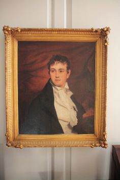 Governor Peyton Randolph by Thomas Sully ... my 4th cousin, 7x removed