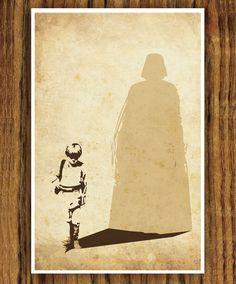 Star Wars Poster. $18.00, via Etsy.