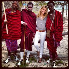Fila VIP - Memorias de África parte 1. Masai