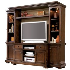 Porter Entertainment Wall Unit by Ashley Furniture