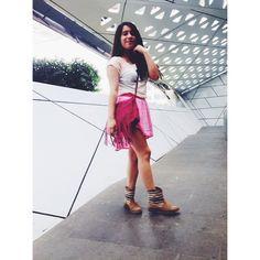Buenos días ☺️☀️ No olviden visitar mi último post en thelookofthedayaudi.blogspot.mx  #tlotdaudi #outfitoftheday #thelookofthedayaudi #ootd #ootdmagazine #fashion #fashionblog #fashionblogger #mexicanblogger #mexicanbloggers #mexicanfashionblogger  (en Cineteca Nacional)