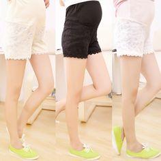 Lace Maternity Shorts  #fashion #maternityclothing #babybump #shopnow #motherhood #summer #momtobe #socute #pregnancy #gorgeous
