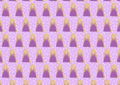 Beautiful Princess Rapunzel Backing Paper Background on Craftsuprint - View Now!