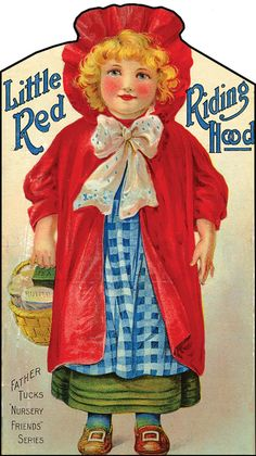 LITTLE RED RIDING HOOD - 1905 RAPHAEL TUCK - FRANCES BRUNDAGE