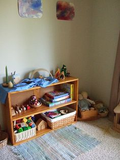 Maybe Indoor Living Area should have Montessori type activities and baskets?  A more natural approach?