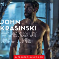 John Krasinski Workout Routine and Diet Plan: How he went from Jim from the Office to GYM of 13 Hours and Jack Ryan! Workout Plan For Men, Workout Routine For Men, Weekly Workout Plans, Workout For Beginners, Workout Ideas, Workout Exercises, Workout Clothes For Men, Beginner Workouts, Bar Workout