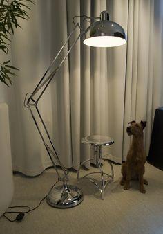 Golvlampa krom Office     1.795 SEK