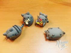 Pusheen cat! with polymer clay ✌️ You can follow us on: Facebook pages Mimiaw Clay Twitter: @ - mimiawclay