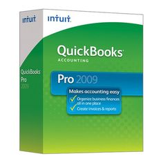 QuickBooks Pro 2009 [OLD VERSION] - Find Me The Cheapest Price:  $159.25