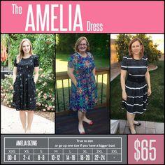 a704181e26c0a3 Amelia Lularoe Sizing, Lularoe Amelia Size Chart, My Lularoe, Lularoe  Amelia Dress,