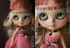 would love to own a custom blythe rogue doll