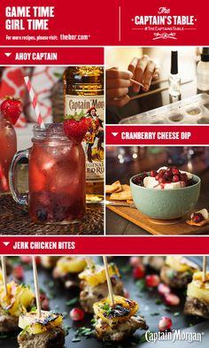 Kick off a luxurious game day with this fun party idea: DIY mani-pedis, snowscape nail art, Jerk Chicken Bites, Cranberry Cheese Dip