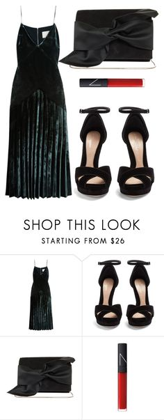 """Untitled #4897"" by beatrizvilar on Polyvore featuring Dion Lee, Alexander McQueen, Victoria Beckham and NARS Cosmetics"