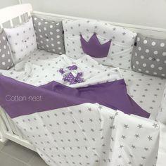 ХЛОПОК. Идеи применения. – 3 219 фотографий Baby Bedding Sets, Baby Pillows, Crib Bedding Sets, Bed Bumpers, Cot Bumper, Baby Mobile Felt, Baby Cribs, Kids And Parenting, Diy For Kids
