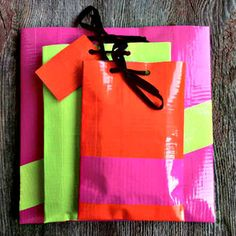 DIY Scotch Colors and Patterns Duct Tape gift envelopes - super easy to do and the kid will have fun.